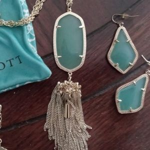 Kendra Scott Necklace & Earrings